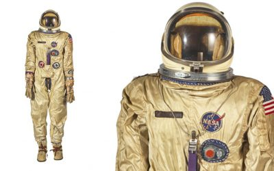 20-1-2019 Complete Gemini G-2C-4 Space Suit for $162,500