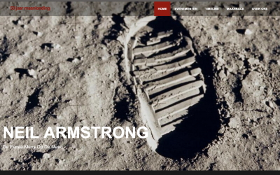 Website: 50 jaar maanlanding